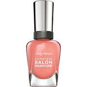 Sally Hansen Complete Salon Manicure Nail Enamel Peach of Cake 380