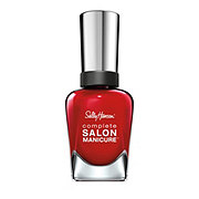 Sally Hansen Complete Salon Manicure Nail Enamel Red My Lips