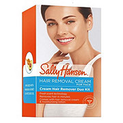 Sally Hansen Creme Hair Remover Kit For Face Upper Lip And Chin