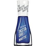 Sally Hansen Insta Dri Matte Metallics 013 Blue Steel Nail Polish
