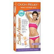 Sally Hansen Ouch Relief Wax Strip Kit Body