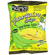SaMai Plantain Chips Lime/Limon