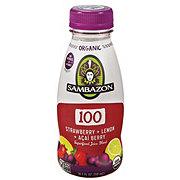 Sambazon Strawberry + Lemon + Acai Berry Juice Blend