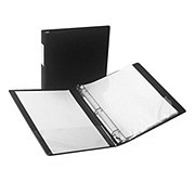 Samsill Clean Touch Antimicrobial 1in Binder, Assorted Colors