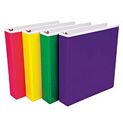 Samsill Color Tinted View Pocket Binder 1in
