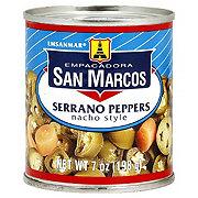 San Marcos Nacho Style Serrano Peppers