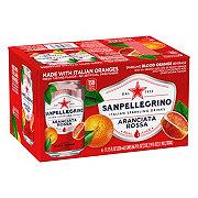 San Pellegrino Blood Orange Sparkling Beverage 11.15 oz Cans