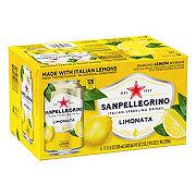 San Pellegrino Lemon Sparkling Beverage 11.15 oz Cans
