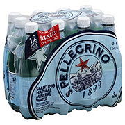 San Pellegrino Natural Sparkling Water 16.9 oz Bottles