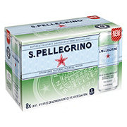 San Pellegrino Sparkling Natural Mineral Water 11.2 oz Cans