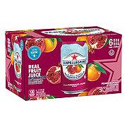 San Pellegrino Sparkling Pomegranate Orange Beverage 11.15 oz Cans