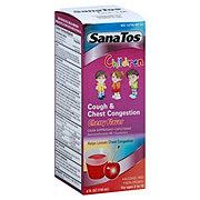 SanaTos Children Cough & Chest Congestion Cherry Flavor
