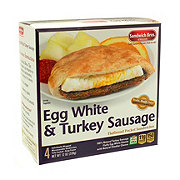 Sandwich Bros Egg White & Turkey Sausage