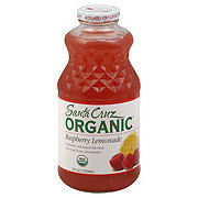 Santa Cruz Organic Lemonade Raspberry Juice
