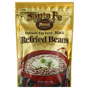 Santa Fe Bean Company Instant Fat Free Black Refried Beans