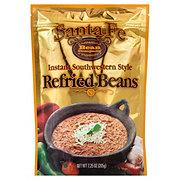 Santa Fe Bean Company Instant Southwestern Style Refried Beans