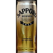 Sapporo Reserve Beer Can