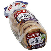 Sara Lee Deluxe Cinnamon Raisin Bagels