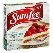 Sara Lee Original Cream Strawberry Cheesecake