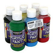 Sargent Art 4 oz Acrylic Paint Set Primary