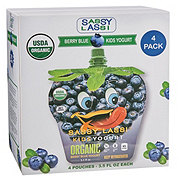 Sassy Lassi Kids Yogurt Organic Berry Blue Yogurt