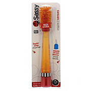 Sassy No Scratch Bottle Brush, Assorted Colors