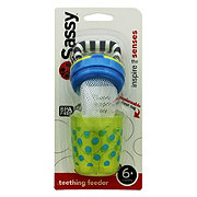 Sassy Polka Dots Teething Feeder, Assorted Colors