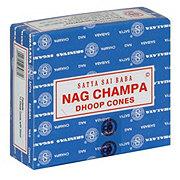 Satya Sai Baba Nag Champa Dhoop Incense Cones