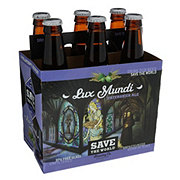 Save the World Lux Mundi Patersbier Ale  Beer 12 oz  Bottles