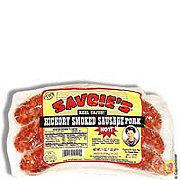 Savoie's Hickory Smoked Pork Hot Sausage