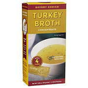 Savory Choice Turkey Broth Concentrate