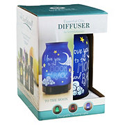 ScentSationals Essential Oils Diffuser The Moon