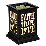 ScentSationals Faith Hope Love Wax Warmer