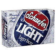 Schaefer Light Lager Beer 24 PK Cans