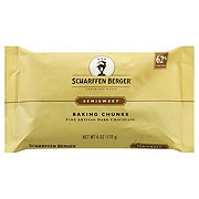 Scharffen Berger 62% Cacao Semisweet Dark Chocolate Baking Chunks