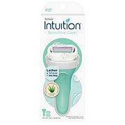Schick Intuition Sensitive Care Women's Razor - 1 Handle + 2 Refills