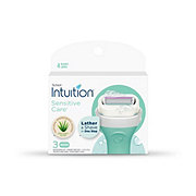 Schick Intuition Sensitive Care Women's Razor Blade Refills
