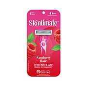 Schick Quattro for Women Disposable Scented Handle Skintimate Raspberry Rain Razors