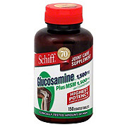 Schiff Joint Care Glucosamine HCl Plus MSM 1500 mg Coated Tablets