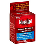 Schiff MegaRed Omega-3 Krill Oil Extra Strength 500 mg Softgels