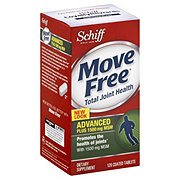Schiff Move Free Total Joint Health Advanced Plus 1500 mg MSM Coated Tablets