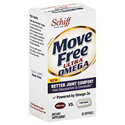 Schiff Move Free Ultra Omega Joint Dietary Supplement Softgels