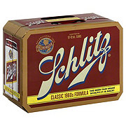 Schlitz Beer 12 PK Cans