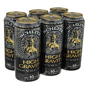 Schlitz High Gravity Beer 6 PK Cans