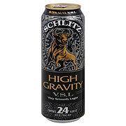 Schlitz High Gravity Beer Can