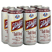 Schlitz Tall Boy Beer 6 PK Cans