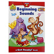 School Zone Beginning Sounds Deluxe Edition Workbook