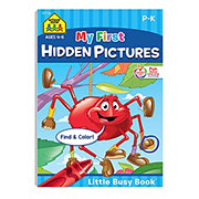 School Zone Busy Book Hidden Pictures