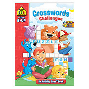 School Zone Crosswords Challenges Activity Zone Workbook