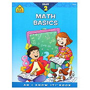 School Zone Grade 2 Math Basics Workbook